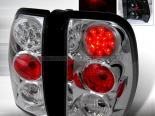 Задняя оптика для Chevrolet Trail Blazer 02-07 Хром: Spec-D