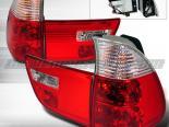 Задние фары на BMW 00-05 X5 X-SERIES Красный: Spec-D
