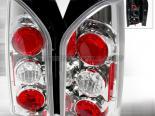 Задние фонари на Nissan Xterra 05-07 Хром: Spec-D