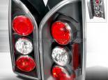 Задние фары для Nissan Xterra 05-07 Чёрный: Spec-D