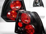 Задние фонари для Volkswagen Jetta 99-04 Altezza Чёрный V2 :