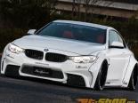 Liberty Walk Обвес по кругу CFRP BMW 4-Series 14-15
