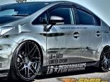 Liberty Walk Side Skirt Toyota Pirus 10-15