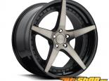 Niche Le Mans M322 Чёрный & Machined with Dark Tint Диски 20x10 5x112 +40mm