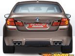 REMUS Round Quad Tip полный System w/ Valve Control BMW M5 седан F10 4.4L 12+