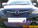 Решётка в передний бампер для Mazda 3 04-06 Sport Billet