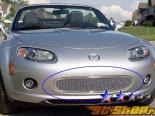 Решётка в передний бампер для Mazda Miata 06-07 MESH