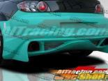 Задний бампер на Mazda RX-8 2003-up VS-GT