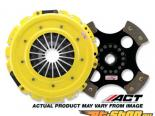 ACT XXR4 - Max Extreme w 4 Pad Disc  Сцепление  Kits 1991-1999 Mitsubishi 3000GT 2WD 3.0L, 2900lb, 595 ft.lbs, 82% Pedal Increase