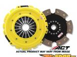 ACT XXR6 - Max Extreme w 6 Pad Disc  Сцепление  Kits 1989-1999 Mitsubishi Eclipse Turbo, 2/4WD, 2900lb, 595 ft.lbs, 82% Pedal Increase