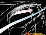 MUGEN Sun Visor|Двери Visor 01 Honda Fit GE6-9 09-13