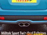 Milltek Выхлоп Без резонатора Twin Oval Tips Set Mini Cooper S MK2 Coupe 1.6L Turbo 06-13