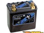 Braille Lithium Ion MiCRO-LiTE Карбон 12 Volt Battery | 827 Amp | 6 x 3 x 6 inch | Левый Positive