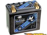 Braille Lithium Ion MiCRO-LiTE Карбон 12 Volt Battery | 1152 Amp | 7 x 3 x 6 inch | Левый Positive