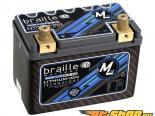 Braille Lithium Ion MiCRO-LiTE Карбон 12 Volt Battery | 693 Amp | 6 x 3 x 4 inch | Левый Positive