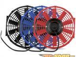 Mishimoto Красный 12inch Slim Electric Fan универсальный