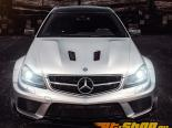 Mode Карбон BLK Series Canards Mercedes Benz C63 W204 12-14