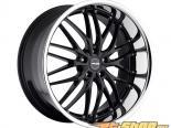 MRR Design Gloss Чёрный with Хром Lip GT1 Диски 22x10.5