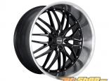 MRR Design Gloss Чёрный with Machined Lip GT1 Диски 5x120 20x8.5 35mm