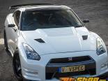 RevoZport RZ Lightweight Vented Bonnet Double Sided Карбон Nissan GTR R35 09-14