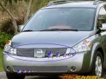 Решётка в бампер для Nissan Xterra 05-07