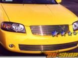 Решётка на бампер для Nissan Sentra 04-06