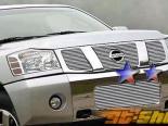 Решётка на передний бампер для Nissan Armada | 2004-2008 Titan 2004-2007