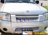 Решётка на передний бампер на Nissan Frontier 01-04