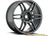 Niche NR6 M105 Anthracite & Milled Spoke Диски 17x7.5 4x100 | 4x114.3 +45mm