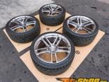 Niche Brush Tinted Zen Диски set 20x10 20x11 5x120 w| Tires BMW M5 F10 2013