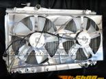 Powerhouse Racing IS300 Fan Shroud Non Polished полный Without проводка для  Toyota Supra 93-02