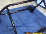 Powerhouse Racing 6Pt Bolt In Roll Bar Coated Toyota Supra 93-02