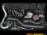 Powerhouse Racing Stage 5+ Turbo комплект S45 Single Scroll | 60mm WG | Precision 8285 GT42 Dual BB Turbo | 4in Downpipe Toyota Supra TT 93-02