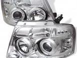 Передняя оптика для Ford F150 04-06 Halo Projector Хром : Spyder