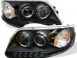 Передняя оптика для Ford F150 97-03 Halo Projector Чёрный : Spyder