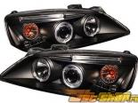 Передние фары для Pontiac G6 05-08 Halo Projector Black : Spyder