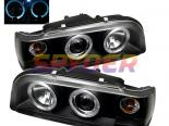 Передняя оптика для Volvo 850 93-97 Halo Projector Black : Spyder