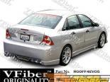 Задний бампер на Ford Focus 00-04 EVO5 VFiber