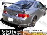 Задний бампер на Acura RSX 02-04 TechnoR VFiber