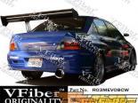 Задний бампер на Mitsubishi EVO 8/9 03-07 Tracer VFiber