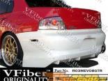 Задний бампер для Mitsubishi EVO 8/9 03-07 GTR VFiber