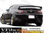 Задний бампер на Mazda RX8 04-08 RM VFiber