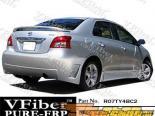 Задний бампер для Toyota Yaris 07-09 BC2 VFiber