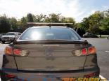 Rexpeed Type C Fiberglass багажник Спойлер Mitsubishi Evo X 08-15