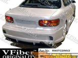 Задний бампер на Toyota Celica 90-93 Invader2 VFiber