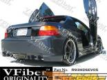 Задний бампер для Honda Del Sol 93-97 EVO5 VFiber