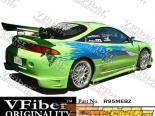 Задний бампер для Mitsubishi Eclipse 95-99 Blits VFiber