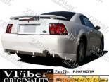 Задний бампер на Ford Mustang 99-04 GTR VFiber