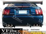 Задний бампер для Ford Mustang 99-04 Invader VFiber
