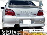 Задняя губа для Subaru Impreza WRX 04-05 C-Speed VFiber